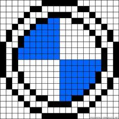 pixel art logo voiture