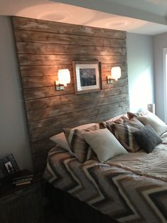 Headboards On Pinterest Headboards Wood Planks And Planks