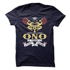 Nice ONO T shirt - TEAM ONO, LIFETIME MEMBER