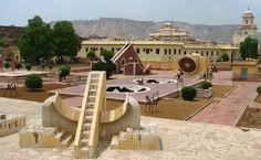 L'osservatorio astronomico del Principe Jal Shing a Jaipur