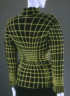 Thierry Mugler 'Anatomique Computer' Two-Piece Suit AW 1990-91