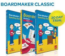 Download a free trial of Boardmaker Plus! v. 6, Boardmaker Studio, Literacy Lab or Boardmaker Pre-Made Activities