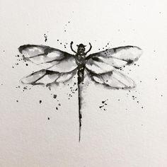 "134 Likes, 6 Comments - Karinemunoz Tattoo (@karine_munoz_tattoo) on Instagram: ""#drawing #draw #dragonfly #dragonflytattoo #libellule #dessin #dessindujour #drawingart #aquarelle…"""