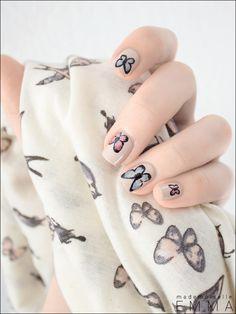 Le Blog de Mademoiselle Emma » Des papillons vintage avec Kure Bazaar