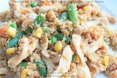 **Healthy Stir Fry with Chicken & Quinoa**   healthy weight loss recipes for eating clean diet
