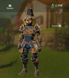 Link's Ancient Armor Cosplay from Legend of Zelda: Breath of the Wild !