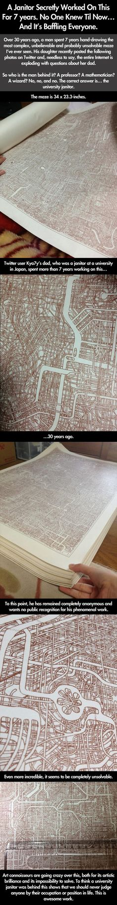 The unsolvable maze // funny pictures - funny photos - funny images - funny pics - funny quotes - #lol #humor #funnypictures