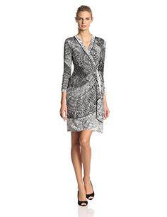 BCBGMAXAZRIA Women's Adele Printed Wrap Dress Reviews     #Adele, #BCBGMAXAZRIA, #Dress, #Printed, #Reviews, #Under25, #WomenS, #Wrap
