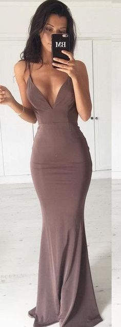 Bold statement, mermaid dress. Spaghetti strapped for evenings, formal lunches and dinners. Beautiful and sleek.