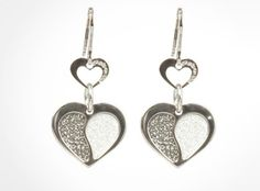 Rebecca Palladium Plated Bronze Earrings (BMHOBN12) for $199 at DarcysFineJewelers...   See conta.cc/GDSTBK to receive 25% discount.