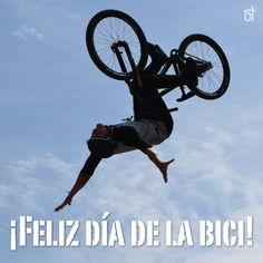 Día de la #bicicleta Gym Equipment, Bike, Posts, Holidays Events, Celebrations, Bicycle, Bicycle Kick, Messages, Bicycles