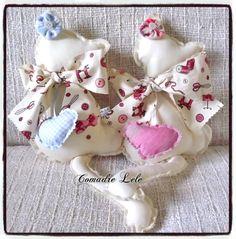 ♥♥ Casal de Gatinhos Fofinhos ♥♥ tamanho: 25 x 13cm cada