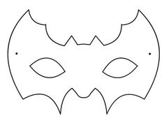 Máscaras Halloween: Murciélago Animal Mask Templates, Mascaras Halloween, Diy And Crafts, Arts And Crafts, Animal Masks, Mask For Kids, Holidays And Events, Preschool Activities, Halloween Crafts