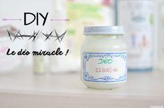 DIY déo déodorant miracle odeur aisselles fait maison recette