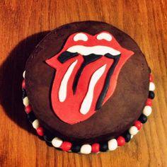 HEARTCORE: Rolling Stones' birthday cake