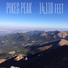 Summit of Pikes Peak Colorado Springs - Bill and I drove all the way to the top!