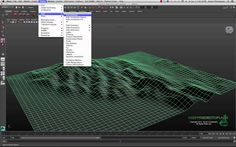 There are a hundred different ways to create terrain in Maya and by using a simple black and white image you can create physically accurate terrain from a DE...