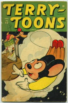 Terry-Toons 43 golden age comic