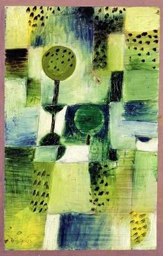 Paul Klee.Park in the Rain 1920