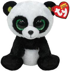 Ty 7136907 - Ty Plüsch - Beanie Boos - Pandabär Bamboo Large