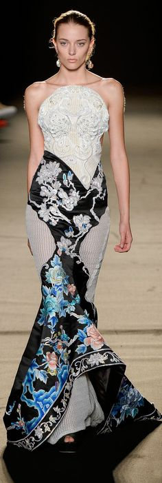 Laurence Xu Couture Fall-winter 2013-2014