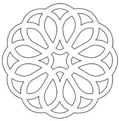 Nice shape for a tattoo Wood Carving Patterns, Stencil Patterns, Stencil Designs, Creation Deco, Scroll Saw Patterns, Laser Cut Wood, Islamic Art, Laser Engraving, Metal Jewelry