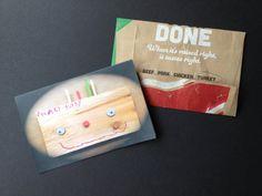 Thanksgiving Jumbo Greeting Card with Handmade by FunWizard, $6.00