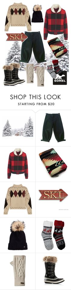 """""""Tame Winter with SOREL: Contest Entry"""" by cavallienastri on Polyvore featuring moda, Yohji Yamamoto, Woolrich, Isabel Marant, SOREL, Bogner e sorelstyle"""
