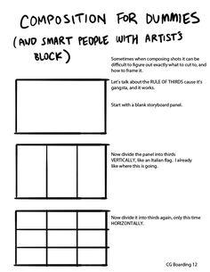 Durf een compositie te maken! Composition for dummies (and smart people with artist block)