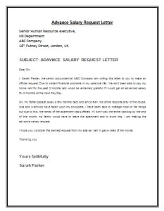 Advance salary request letter template is a formal letter composed by the employee, addressed to the employer, requesting for some advance loan from the A Formal Letter, Formal Business Letter, Work Reference Letter, Employee Resignation Letter, Biodata Format Download, Bubble Letter Fonts, Excel For Beginners, Confirmation Letter, Proposal Letter