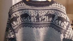 Wenchesstrikkeverden – 18 Des Elg Marius genser str L Double Knitting, Animals And Pets, Boho Shorts, Crochet Top, Knitting Patterns, 18th, Sewing, Knits, Crafts