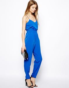 Image 4 ofASOS TALL Jumpsuit With Cami Straps
