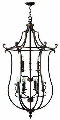 Gorgeous Entry / Foyer light fixture from Hinkley.