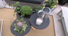 Transformer des tabourets en table basse - L'atelier déco - France 2