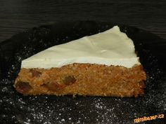 Zdravý koláč z ovesných vloček s tvarohem Sweet Cakes, Ham, Cheesecake, Clean Eating, Cooking, Healthy, Desserts, Recipes, Food