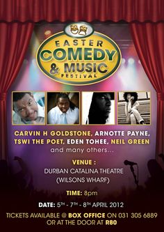 Easter Comedy & Music Festival - Durbantainment