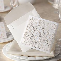 Pocket Laser Die Cut Wedding Invitations Wedding Invitation Stamps Wedding Invitation Verses From Imonolisa, $57.29| Dhgate.Com