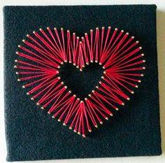 Image result for string art heart