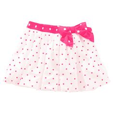 This beautiful pink polka dot skirt has a pink bow. The size is extra large, it costs is fifty-four pounds and sixty pence. Girl Fashion, Fashion Dresses, Womens Fashion, Toddler Outfits, Girl Outfits, Cute Skirts, Baby Boutique, Pink Polka Dots, Summer Collection