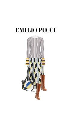 """""""Pretty in Pucci"""" by noconfessions ❤ liked on Polyvore featuring Emilio Pucci, Jeffrey Campbell and Rebecca Minkoff"""