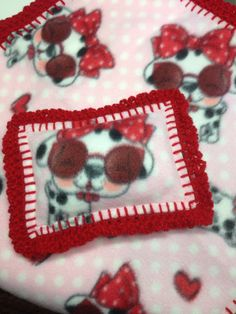 5x7 Pillow for Baby Doll Blankets