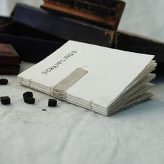 idea to do self: scrapplings - small book for notes