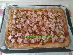 COCINANDO CON ROCIO: PIZZA DE CEBOLLA ATUN JAMON YORK Y HUEVO