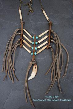 "Indian Necklace ""Achak"""