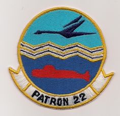 USN VP-22 BLUE GEESE patch ( P-3 ORION MARITIME PATROL SQN )