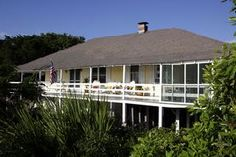 $3200, 5BR, private beach access and THAT PORCH!  Vacation rental in Tybee Island from VacationRentals.com! #vacation #rental #travel