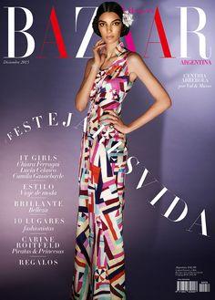 Harper's Bazaar Argentina December 2015 - Cynthia Arrebola Fashion Magazine Cover, Fashion Cover, Magazine Covers, Karl Otto, Harper's Bazaar, Model Magazine, Carine Roitfeld, Princess Caroline, Covergirl