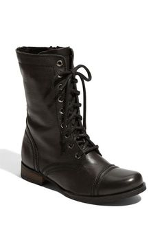 Steve Madden 'Troopa' Boot available at #Nordstrom   Great with skirts!!!!!!!