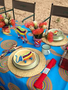 Table Decor - proudly SA party