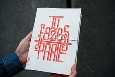 European Capital of Culture Programme Book designed by Atelier Martino&Jaña